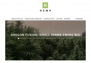 hemp magazine cbd hemp farming science